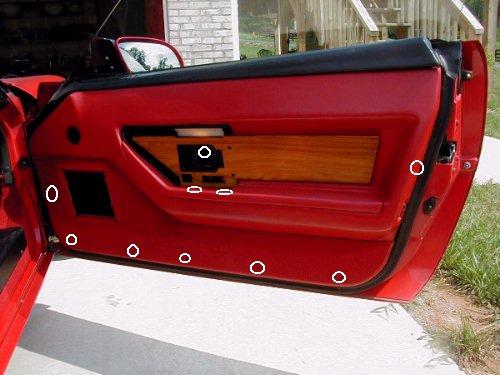 84 89 corvette door panels enquiry corvetteforum - C5 corvette interior door panels ...